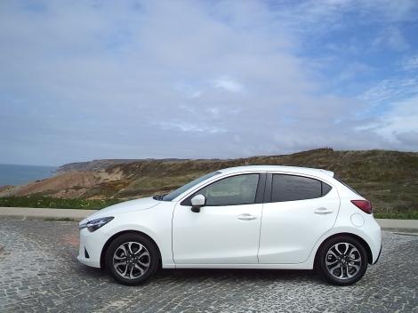 O Mazda2 1.5 SKYACTIV-D revelou-.se um bom estradista