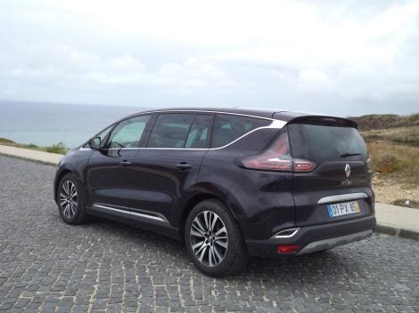 O topo de gama da Renault Espace tem um preço de 52.910 euros