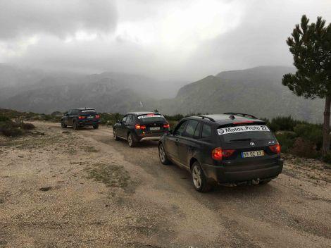 O evento reuniu 30 viatura BMW xDRIVE e sDRIVE