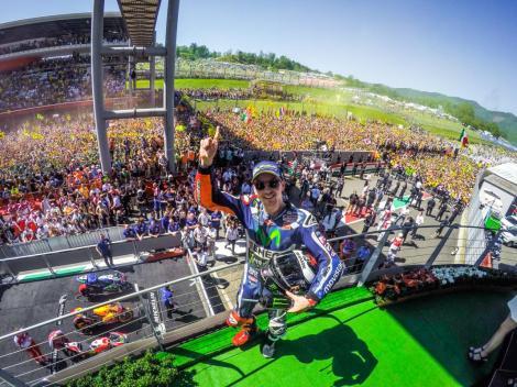 Jorge Lorenzo venceu a prova de MotoGP do Mugello