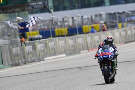 Lorenzo dominou GP de França e é novo líder do Mundial