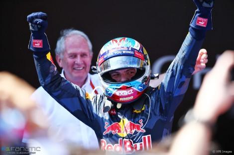 Max Verstappen tornou-se o mais jovem vencedor de um GP de F1 aos 18 anos