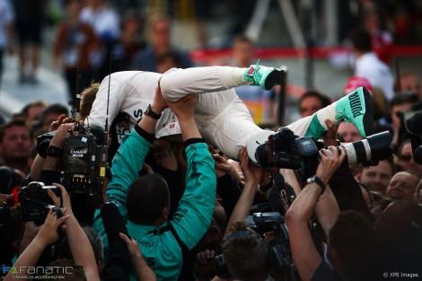 Nico Rosberg venceu na Rússia o seu 7º GP de F1 seguido