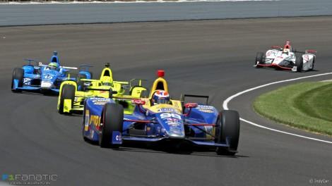 Alexander Rossi ganhou as Indy 500 na estreia