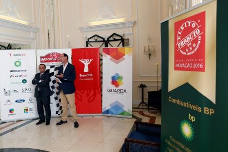 Álvaro Amaro e Luís Celíneo durante a apresentação