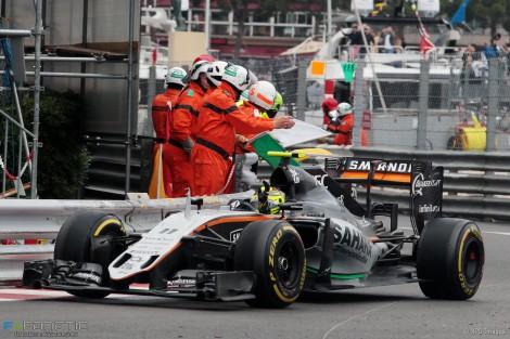 Sérgio Pérez ofereceu um inesperado pódio à Force India