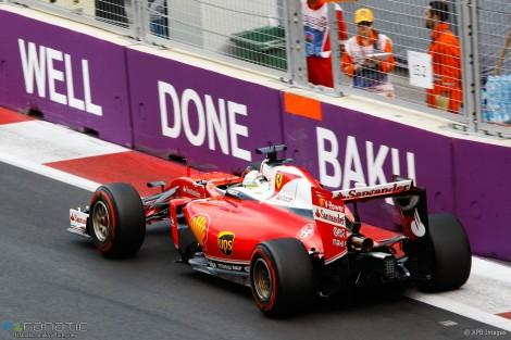 Vettel voltou a não conseguir acompanhar o mlíder mas foi 2º