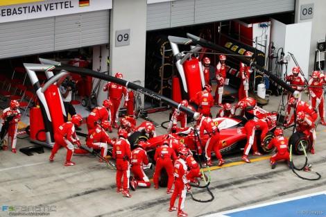 Raikkonen voltou a ser o melhor dos Ferrari