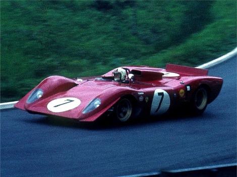 1000 Km Nürburgring 1969 (Ferrari 312P)