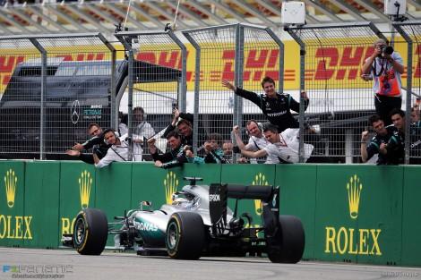 Hamilton está imparável no Mundial de F1