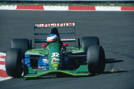 Michael Schumacher estreou-se na F1 há 25 anos na Bélgica