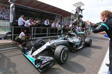 Nico Rosberg dominou GP da Bélgica