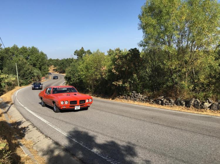 O Pontiac GTO foi uma das estrelas deste Encontro