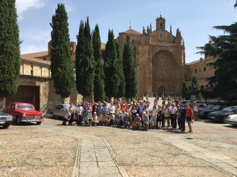 Foto de família dos participantes em Salamanca