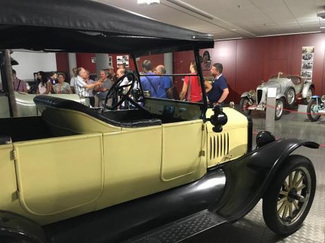O evento visitou vários espaços ligados à história do automóvel