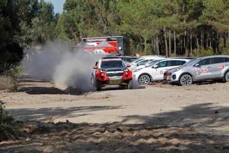 Nuno Madeira passeou alguns dos presentes no Sportage TT