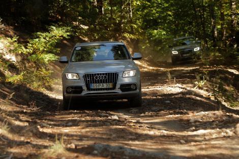 A Audi Offroad Experience decorreu entre 5 e 7 de Outubro