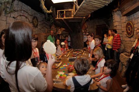 O Museu do Pão recebeu a visita de todos os participantes