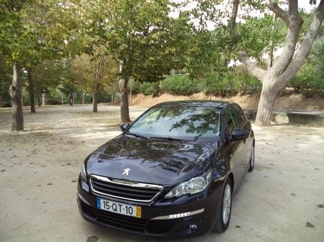 Peugeot 308 1,6 BlueHDi 100 Style (Fotos: Parque das Tílias, Alenquer)